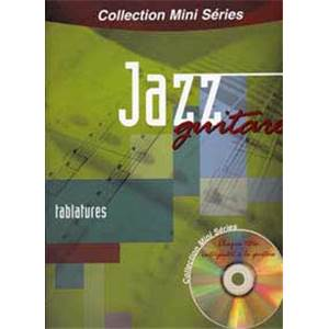 COMPILATION - MINI SERIES JAZZ GUITARE TAB. + CD