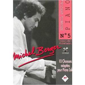 LECLERC M. - BERGER MICHEL SPECIAL PIANO VOL.5 + CD