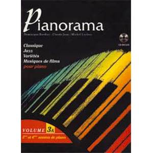 BORDIER/LECLERC - PIANORAMA VOL.3A + CD