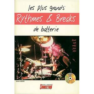 JOBARD SYLVERE - GRANDS RYTHMES ET BREAKS DE BATTERIE + CD