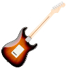 GUITARE FENDER AMERICAN PROFESSIONAL STRATOCASTER LH ROSEWOOD 3 TONS SUNBURST