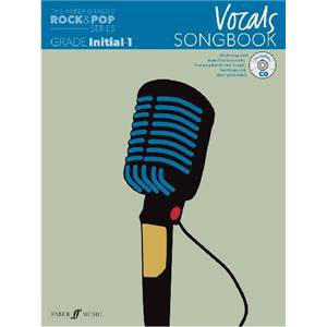 COMPILATION - ROCK & POP GRADED SONGBOOK VOCALS INITIAL TO GRADE 1 + CD