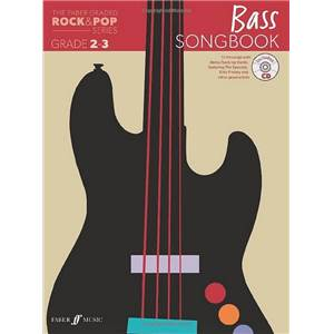COMPILATION - ROCK & POP GRADED SONGBOOK BASS GRADE 2 3 + CD