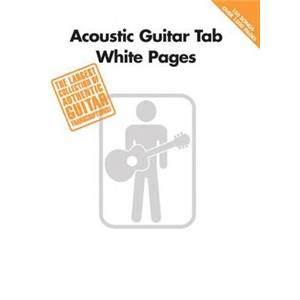 COMPILATION - ACOUSTIC GUITAR TAB. WHITE PAGES
