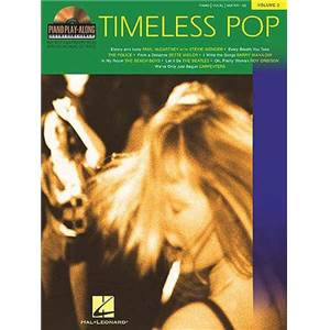 COMPILATION - PIANO PLAY ALONG VOL.003 TIMELESS POP + CD