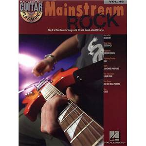 COMPILATION - GUITAR PLAY ALONG VOL.046 MAINSTREAM ROCK + CD