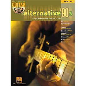 COMPILATION - GUITAR PLAY ALONG VOL.051 ALTERNATIVE 90S + CD