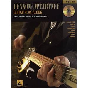 LENNON / MCCARTNEY - GUITAR PLAY ALONG VOL.025 + CD