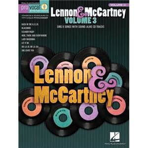 LENNON / MCCARTNEY - PRO VOCAL FOR MALE SINGERS VOL.21 + CD