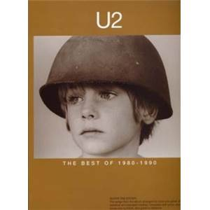 U2 - BEST OF 1980 1990 GUITAR TAB