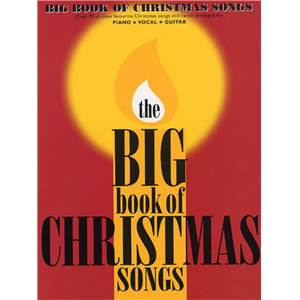 COMPILATION - BIG VOL.OF CHRISTMAS SONGS P/V/G