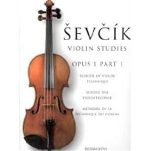 SEVCIK OTAKAR - L'ECOLE DE LA TECHNIQUE DU VIOLON OP.1 PART 1
