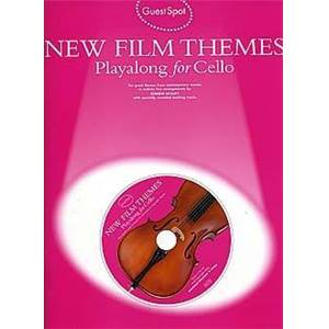 COMPILATION - GUEST SPOT NEW FILM THEMES POUR VIOLONCELLE + CD