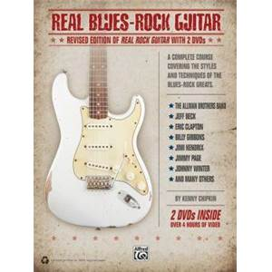 CHIPKIN KENN - REAL BLUES ROCK GUITAR REVISED EDITION + 2 DVDS
