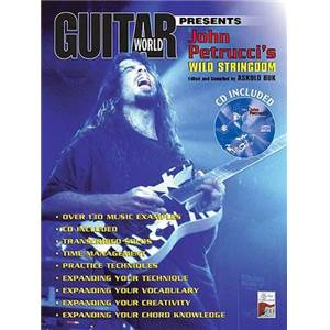 PETRUCCI JOHN - WILD STRINGDOM + CD