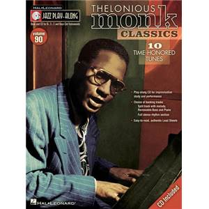 MONK THELONIOUS - JAZZ PLAY ALONG VOL.090 + CD