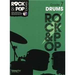 COMPILATION - TRINITY COLLEGE LONDON : ROCK & POP GRADE 7 FOR DRUMS + CD