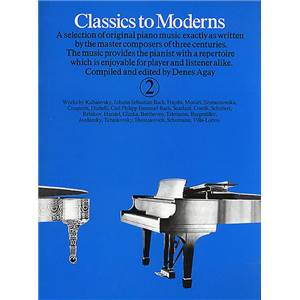 COMPILATION - CLASSICS TO MODERNS VOL.2 - PIANO