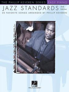 KEVEREN PHILLIP - JAZZ STANDARDS EASY PIANO SOLOS