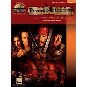ZIMMER / BADELT - PIANO PLAY ALONG VOL.069 PIRATES OF THE CARIBBEAN + CD