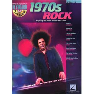 COMPILATION - KEYBOARD PLAY ALONG VOL.16 1970S ROCK + CD