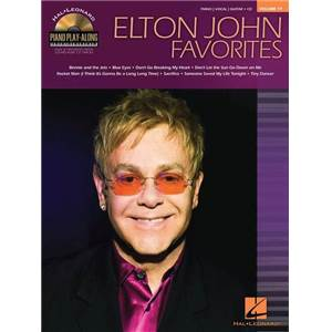 JOHN ELTON - PIANO PLAY ALONG VOL.077 FAVORITES + CD