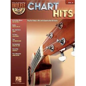 COMPILATION - UKULELE PLAY ALONG VOL.8 CHART HITS + CD