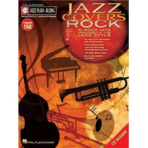 COMPILATION - JAZZ PLAY ALONG VOL.158 JAZZ COVERS ROCK + CD