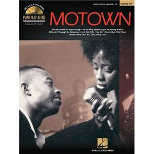 COMPILATION - PIANO PLAY ALONG VOL.114 MOTOWN + CD