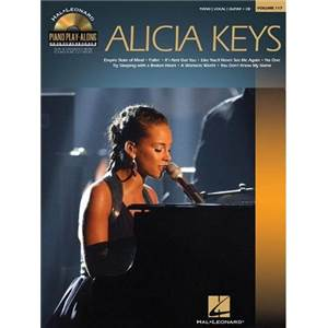 KEYS ALICIA - PIANO PLAY ALONG VOL.117 + CD
