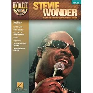 WONDER STEVIE - UKULELE PLAY ALONG VOL.28 + CD