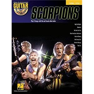 SCORPIONS - GUITAR PLAY ALONG VOL.174 + CD