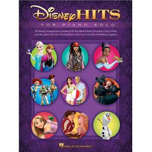 DISNEY - HITS FOR PIANO SOLO