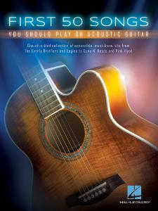 COMPILATION - FIRST 50 ROCK SONGS YOU SHOULD PLAY ON ACOUSTIC GUITAR