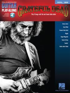 GRATEFUL DEAD - GUITAR PLAY-ALONG VOL.186 + ONLINE AUDIO ACCESS