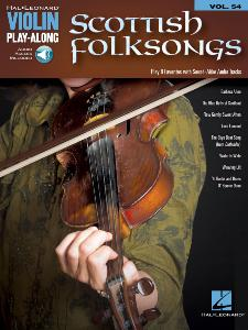 COMPILATION - VIOLIN PLAYALONG VOL.054 SCOTTISH FOLKSONGS + ONLINE AUDIO ACCESS