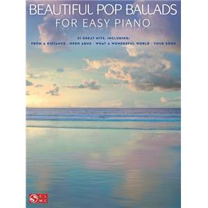 COMPILATION - BEAUTIFUL POP BALLADS FOR EASY PIANO