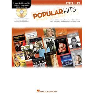 COMPILATION - POULAR HITS FOR CELLO (VIOLONCELLE) + CD