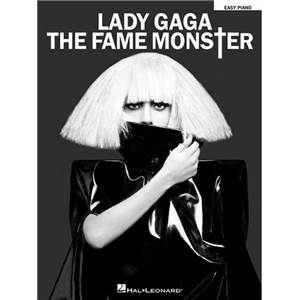 LADY GAGA - THE FAME MONSTER FOR EASY PIANO