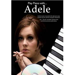 ADELE - PLAY PIANO WITH + CD