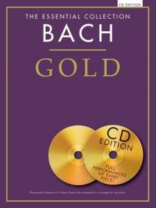 BACH J.S. - GOLD ESSENTIAL PIANO COLLECTION + CD