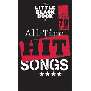 COMPILATION - LITTLE BLACK SONGBOOK (POCHE) ALL TIME HITS SONGS 70 SONGS