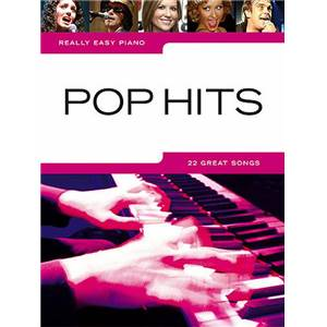 COMPILATION - REALLY EASY PIANO POP HITS 22 GREAT SONGS