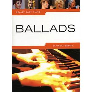 COMPILATION - REALLY EASY PIANO BALLADS 24 SONGS