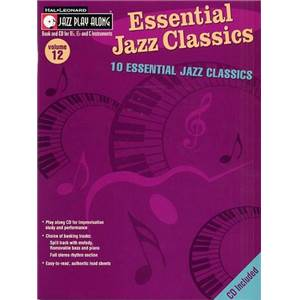 COMPILATION - JAZZ PLAY ALONG VOL.012 ESSENTIALS JAZZ CLASSICS + CD