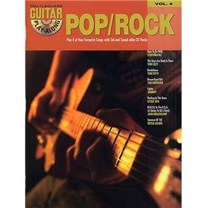 COMPILATION - GUITAR PLAY ALONG VOL.004 POP/ROCK + CD
