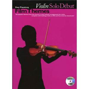 COMPILATION - SOLO DEBUT FILM THEMES VIOLIN + CD
