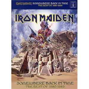 IRON MAIDEN - SOMEWHERE BACK IN TIME THE BEST OF: 1980 1989 GUITAR TAB