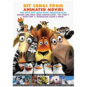 COMPILATION - HITS SONGS FROM ANIMATED MOVIES P/V/G