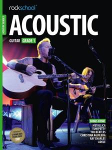 COMPILATION - ROCKSCHOOL HOT ACOUSTIC GUITAR GRADE 1 + DOWNLOAD CARD